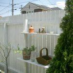 天然木フェンスの有効活用!