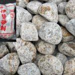 ごろた石と割栗石