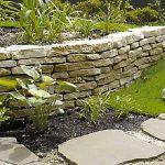 お庭作りに欠かせない 天然石