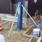 デザイン賞を受賞した機能門柱を設置しています!