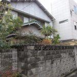 1m以上の古いブロック塀は、注意です!