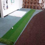 本格的な人工芝ゴルフグリーンの紹介です!