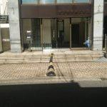 玄関の御影石をリフォーム